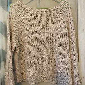 Billabong open knit sweater